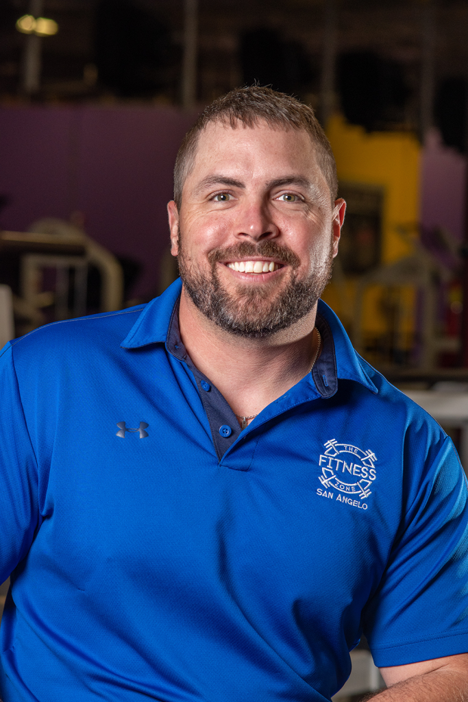 Hunter Price Personal Trainer In San Angelo at The Fitness Zone